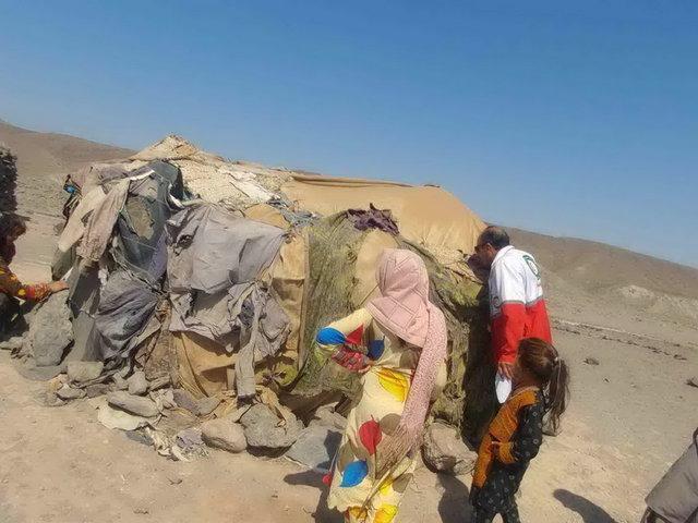 حضور سه تیم ارزیاب هلال احمر ریگان در زلزله منطقه ایرانشهر