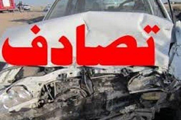 2 کشته و 8 زخمی طی دو سانحه تصادف در گلستان