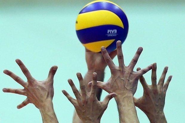 تیم والیبال شهروند اراک بال های عقاب نهاجا را چید